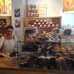 Delightful cafe with wonderful bread and delicious treats!