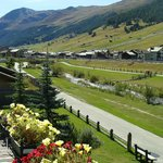 Well maintained walking paths in Livigno