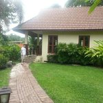 Our cottage which was no.1 directly overlooking the River Kwai