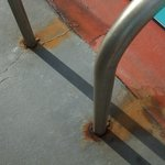 steps unsafe due to rust
