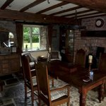 Cider Press Cottage dining room