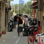 The streets of Rethymno!
