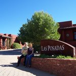 Entrance of Las Posadas in Sedona