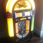 Juke box in the bar