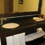 2 bathrooms in suite, well furnished with towels & toiletries