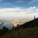 Wallowa Lake - view from the Tram