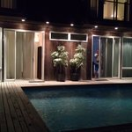 garden rooms/poolside