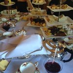 High Tea (during the service)