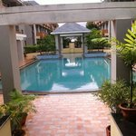 SWIMMING POOL AT BLUE LILY RESORT PURI