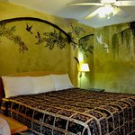 Beautiful king bed and nonsmoking room