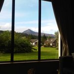 View from our time share lodge at Auchrannie
