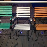 I had to rearange these chairs at patio area, being Irish