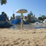 Kids Beach area at Aqua park- perfect for Toddlers
