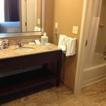 Sink area - King Suite with Sofa Bed