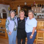 Carol, Cathy, & Sherry after breakfast