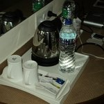 Tea / Coffee Maker & Complimentary Mineral Water.