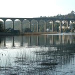Calstock Railway Viaduct 3mins walk away