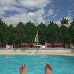 Me chillin at the pool @Bagan Umbra Hotel