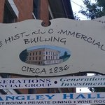 177 Year Old Building Sign