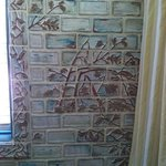 beautiful tiling in bathroom