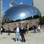 A visit to the Bean, Milennia Park, Chicago