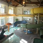 Children's Area in the Water Park. (To the left).