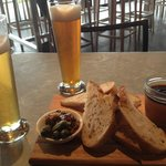 Best pate & Moo brews at MONA Wine Bar