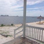 So peaceful on the Santa Rosa Sound!  Views of Navarre Beach! Just 5 minutes away! Perfect!