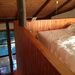 Rainforest Chalet bedroom (mezzanine)