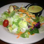 Ample and delicious garden salad