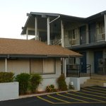 Two Story Strip Motel with exterior room doors