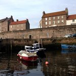 View of The Walls from Berwick's small harbour