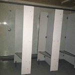 Communal Shower Cubicles