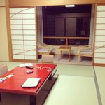 The spacious room / 部屋