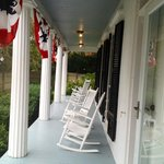 Front Porch of the Liberty Hill Inn