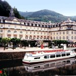 the Haeckers Grand Hotel on the Rhine River