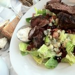 Steak & Stilton Salad ~ Incredibly delicious!! The steak was grilled perfectly.  I will be back!