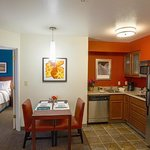 One Bedroom Dining and Kitchen