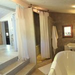 The bathroom for our suite, Perle de Coton