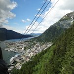 Juneau from the top of Mt Roberts