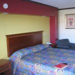 Red Carpet Inn South Holland IL King bed