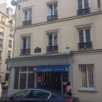 comfort hotel Paris nation deventure