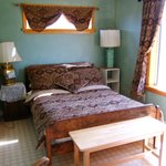 Sage Room with double bed