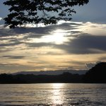 Sunset on the Rio Napo