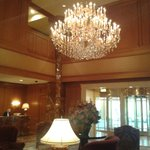 Inside Hotel Reception