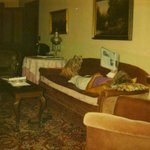 sorry for quality - polaroid. this is in the sitting room