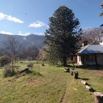 A beautiful hostal with private rooms and bath set on two hecter farm, walking distance from Lak