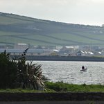 View across the bay to Dingle