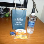 Fairfield Inn Portland Maine Mall: Welcome Gift