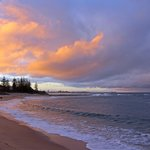 Moffat Beach - sunset